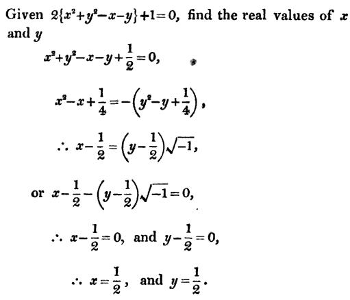 12 solve for x and y from single equation