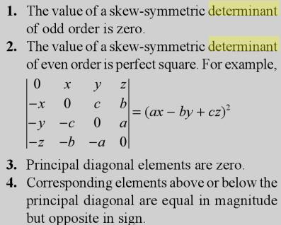 13 skew Symmetric Determinant