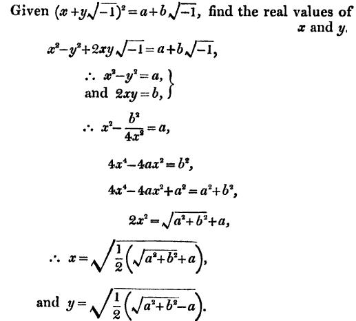 13 solve for x and y from single equation