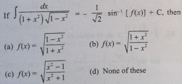 14 Integral 1 plus x square root 1 minus x square