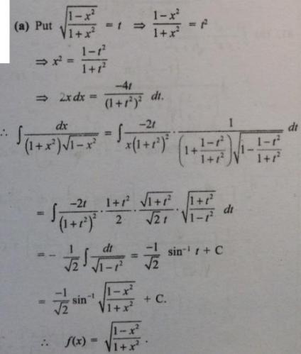 15 Integral 1 plus x square root 1 minus x square