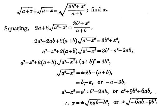 19 solve for x