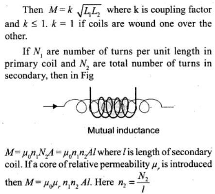 1a Mutual Inductance