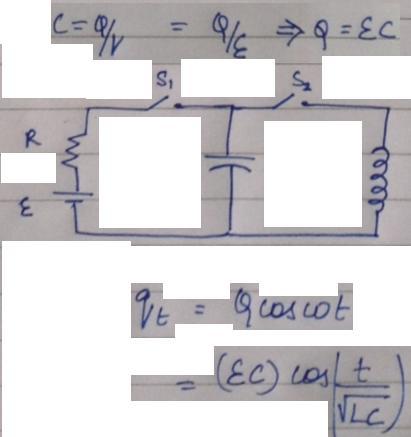 1b Charge Oscillation Formula
