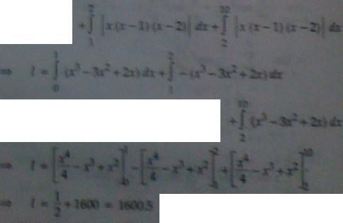 1b Integration of a Modulus function