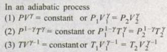 1d Formula adiabatic process