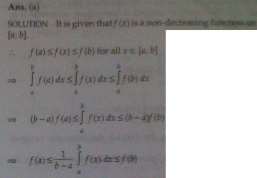 1g Inequality of Integrals