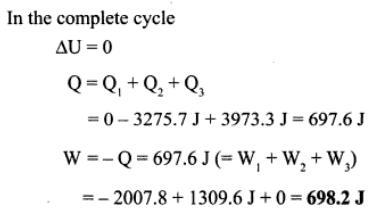 1h sample of Ideal mono atomic gas
