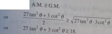 2 Minimum value Trigonometry AM greater than GM
