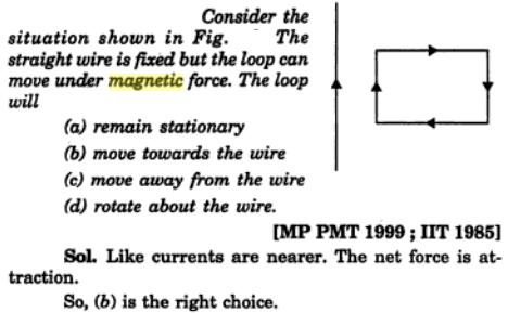 24 Magnetism problem in IIT JEE 1985 SKMClasses