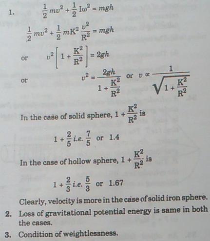 2b MI 1-3 various questions