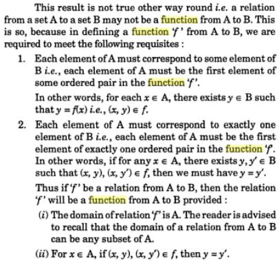 30b All functions are Relations