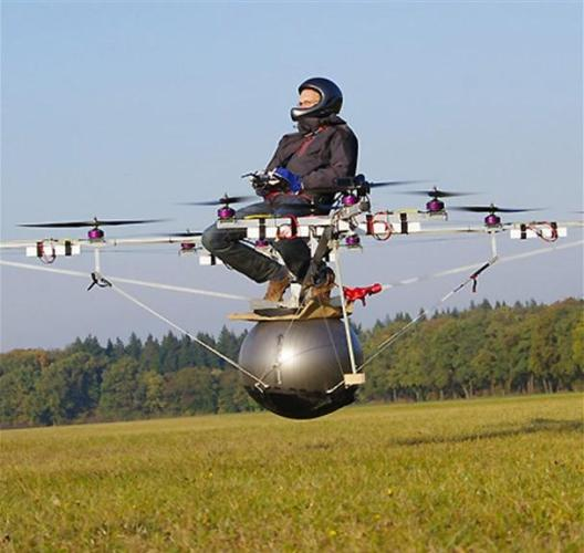 31b Aerocycle tricopter