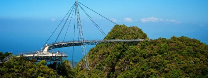 31h Hanging bend bridge Malaysia