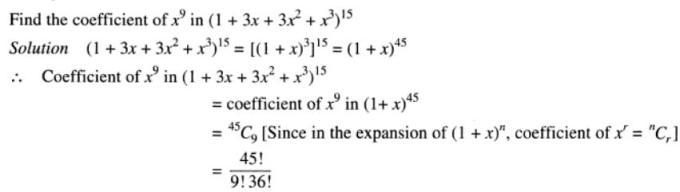 33 Binomial theorem