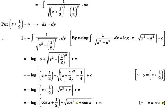 33b Integration of root sec x minus 1