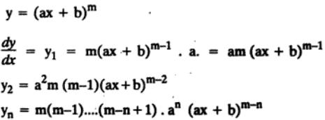 34 n th Derivative ax plus b to the power m