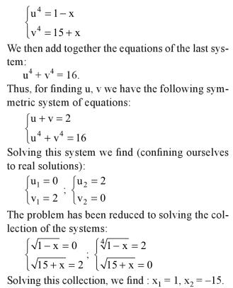 36b Solve the equation