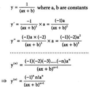 37 n th differentiation of 1 by ax plus b