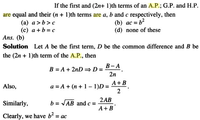 37a 2n+1 th terms of an AP