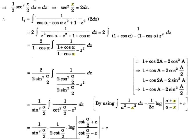 38c Integration of Cos Alpha into Cos x plus 1 by Cos Alpha plus cos x