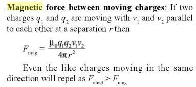 4 Force due to moving charges magnetic effect SKMClasses
