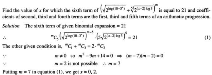 40 Binomial theorem