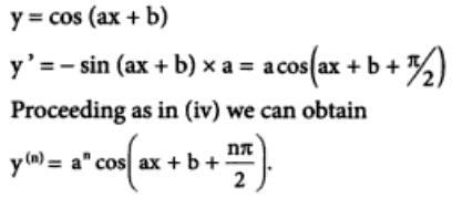 40 n th differentiation of Cos ( ax plus b )