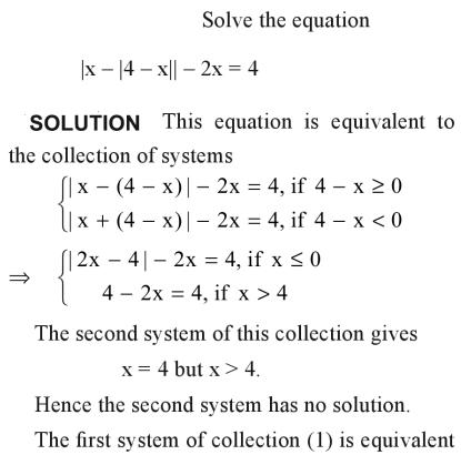 40a Solve the equation