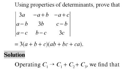 41 Determinant Expansion