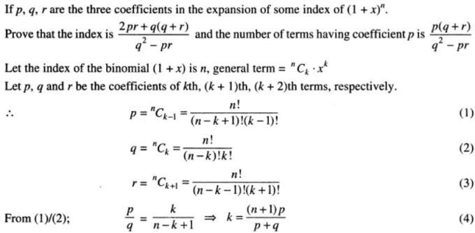 42 Binomial theorem