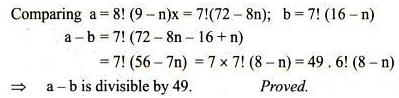 42 n the differentiation of x to the power m
