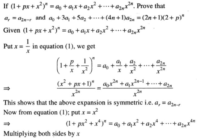 45 Binomial theorem