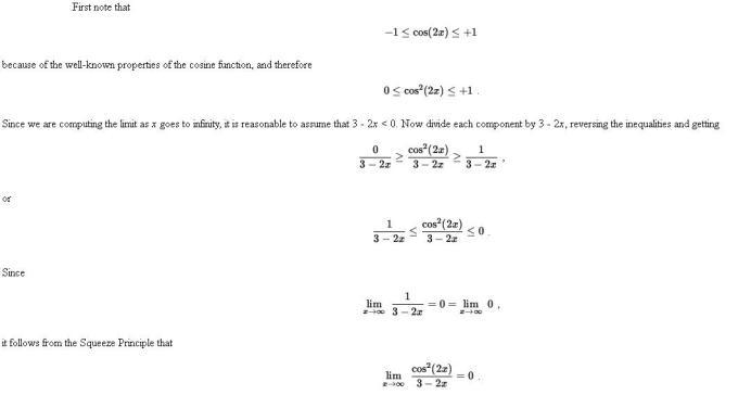 48k Sandwich or Pinching Theorem of Limits Mathematics