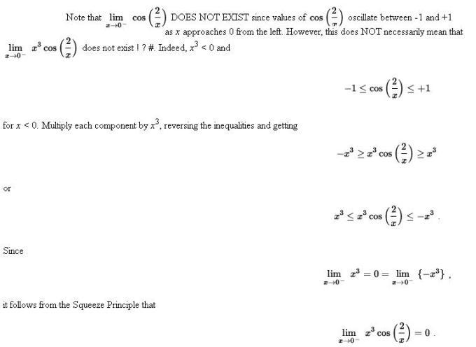 48m Sandwich or Pinching Theorem of Limits Mathematics