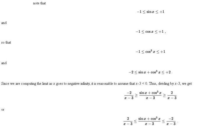 48u Sandwich or Pinching Theorem of Limits Mathematics