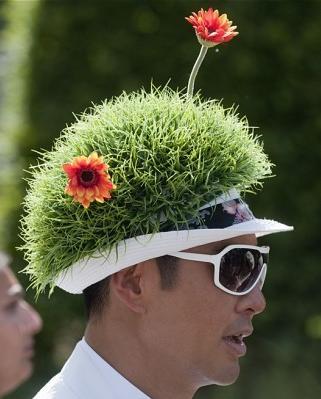 49a Grass cap