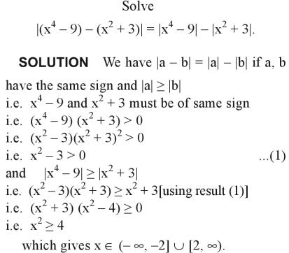 49a Solve the modulus