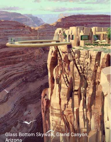 4a Glass Bottom Skywalk Arizona