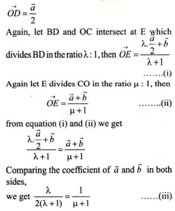 5 Vectors midpoints triangle parallelogram SKMClasses Subhashish Sir Bangalore