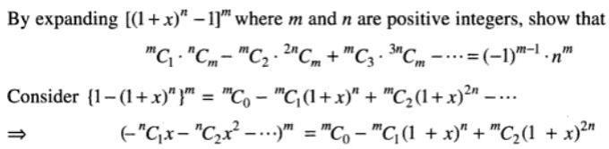 50 Binomial theorem