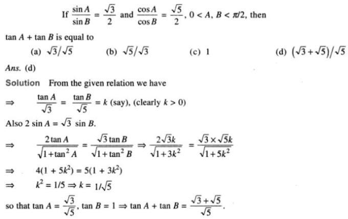 51 Trigonometry examples SKMClasses Iblur