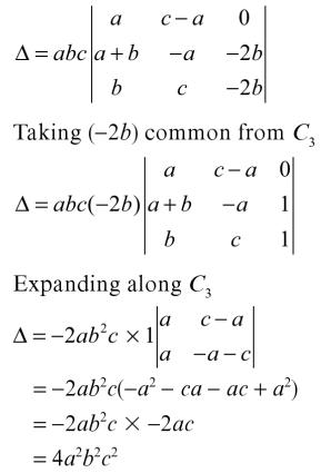 52 Expand the Determinant