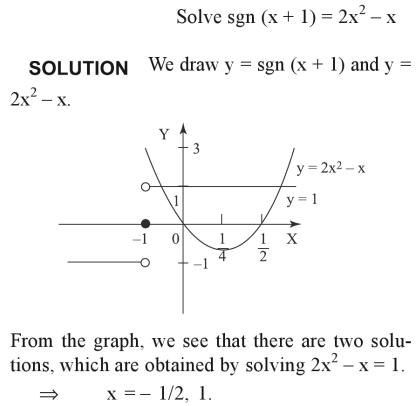 53a Solve signum function