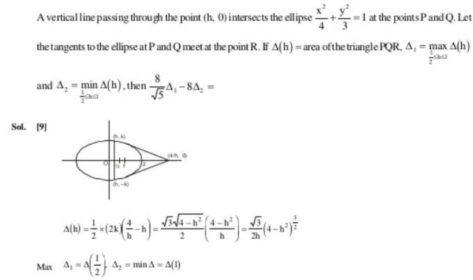 54a Ellipse coordinate Geometry