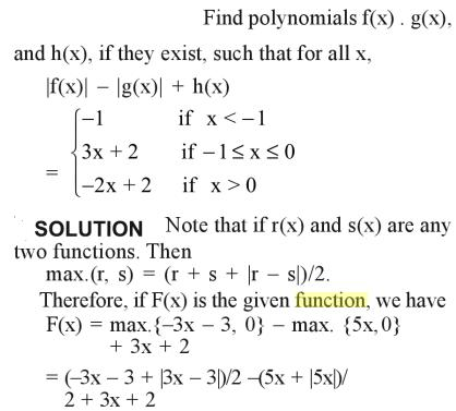 57a Find the polynomial