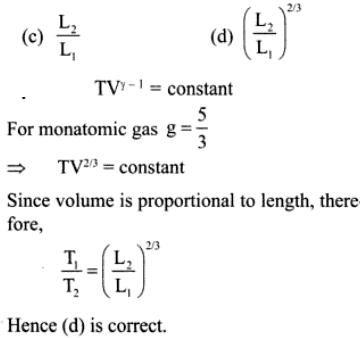 5b monoatomic ideal gas at T1
