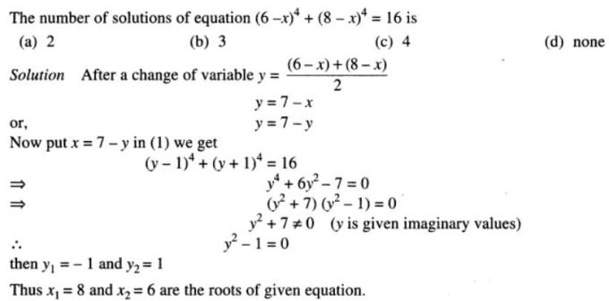 65 Quadratic Equations