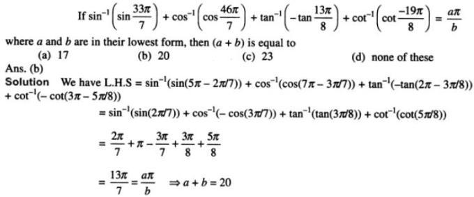 66 Trigonometry examples SKMClasses Iblur