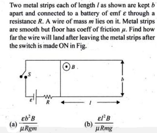 66 Two metal strips each of length SKMClasses IIT JEE